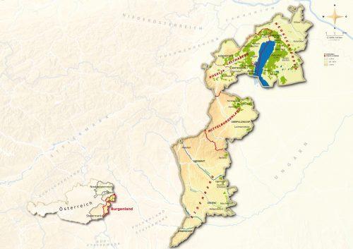 Projektregion ClimVino